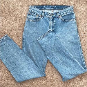 Light wash Levi jeans size 0 ✨